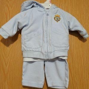 Ralph Lauren Baby Boy 3 Piece Outfit